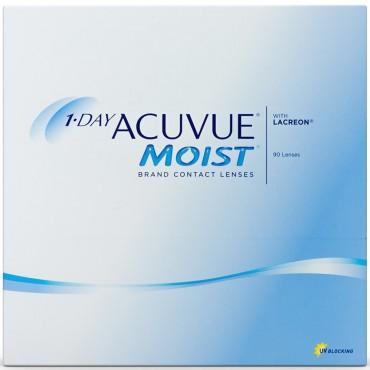 1-day Acuvue Moist (90) kontaktlinser from www.interlinser.dk
