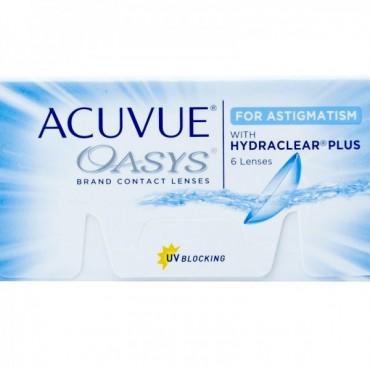 Acuvue Oasys for Astigmatism (6) kontaktlinser from www.interlinser.dk