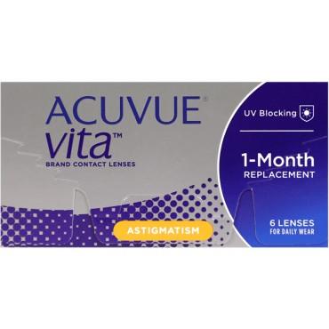 Acuvue Vita for Astigmatism (6) kontaktlinser from www.interlinser.dk