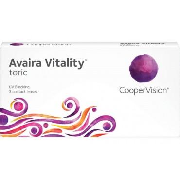 Avaira Vitality Toric (3) kontaktlinser from www.interlinser.dk