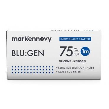 Blu:gen (6) kontaktlinser from www.interlinser.dk