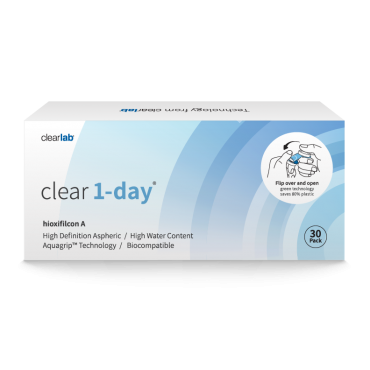 Clear1-day (30) kontaktlinser from www.interlinser.dk