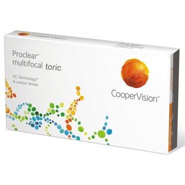 Proclear Multifocal Toric (3) kontaktlinser from www.interlinser.dk