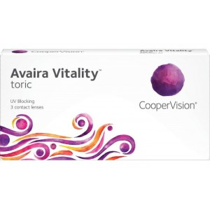 Avaira Vitality Toric contact lenses 3-pack